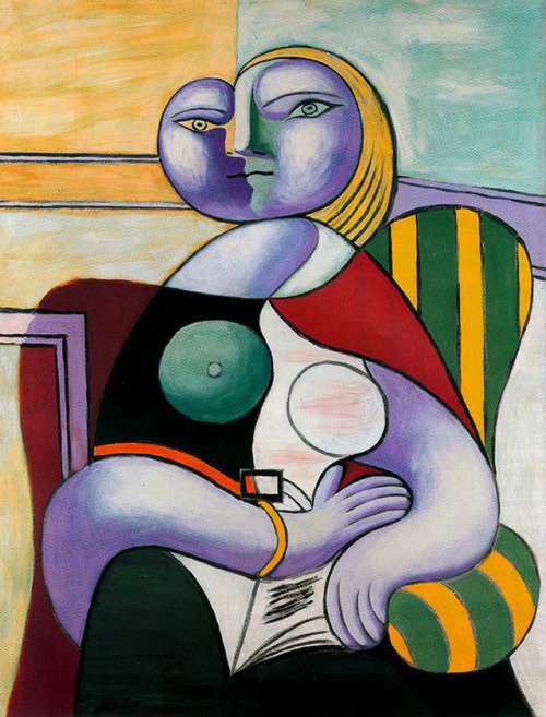 Reading, Pablo Picasso