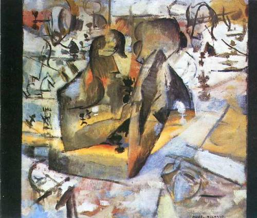 The Chess Players, Marcel Duchamp
