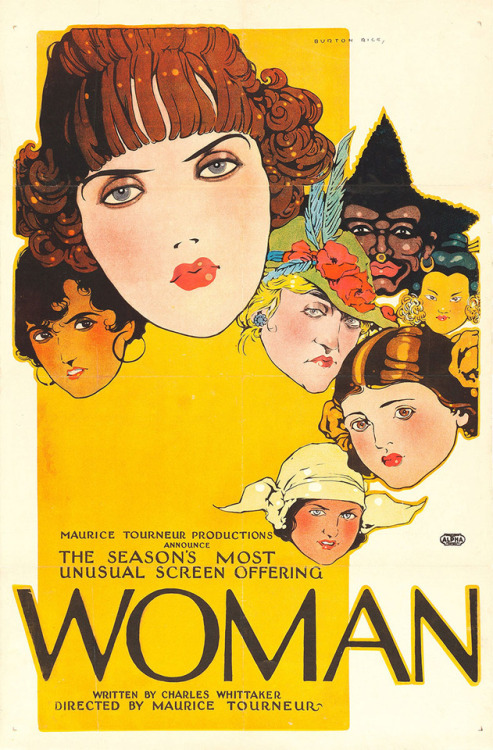 US one sheet for WOMAN Maurice Tourneur