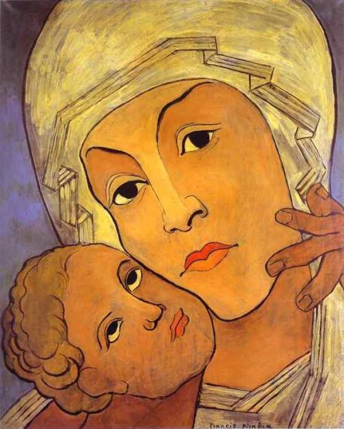 Virgin with Infant, 1935, Francis Picabia