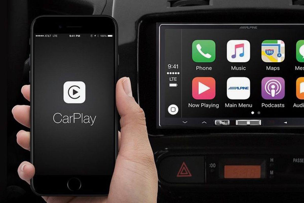 Alpine's wireless Apple CarPlay
