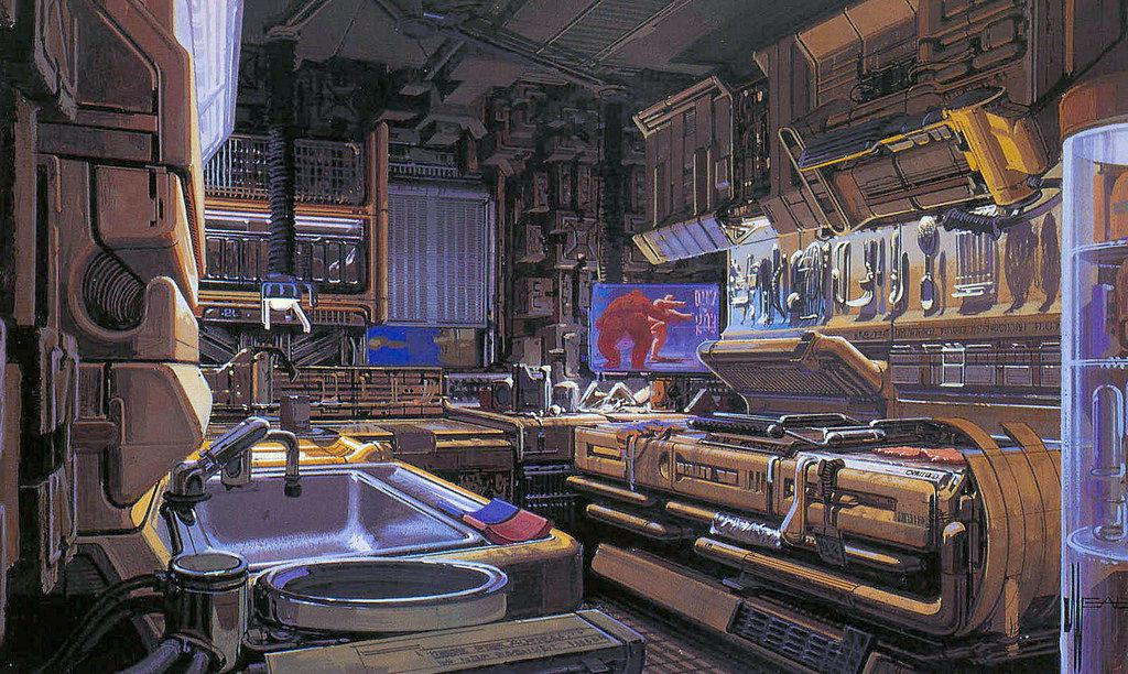 Blade Runner syd mead Artwork