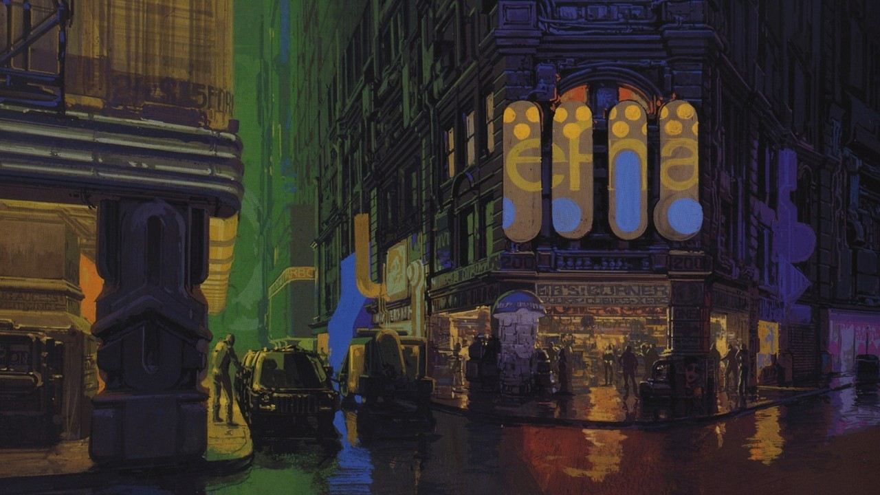 L.A. Architecture in Blade Runner 1982