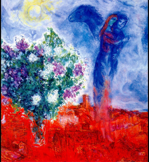 Lovers over Sant Paul, Marc Chagall