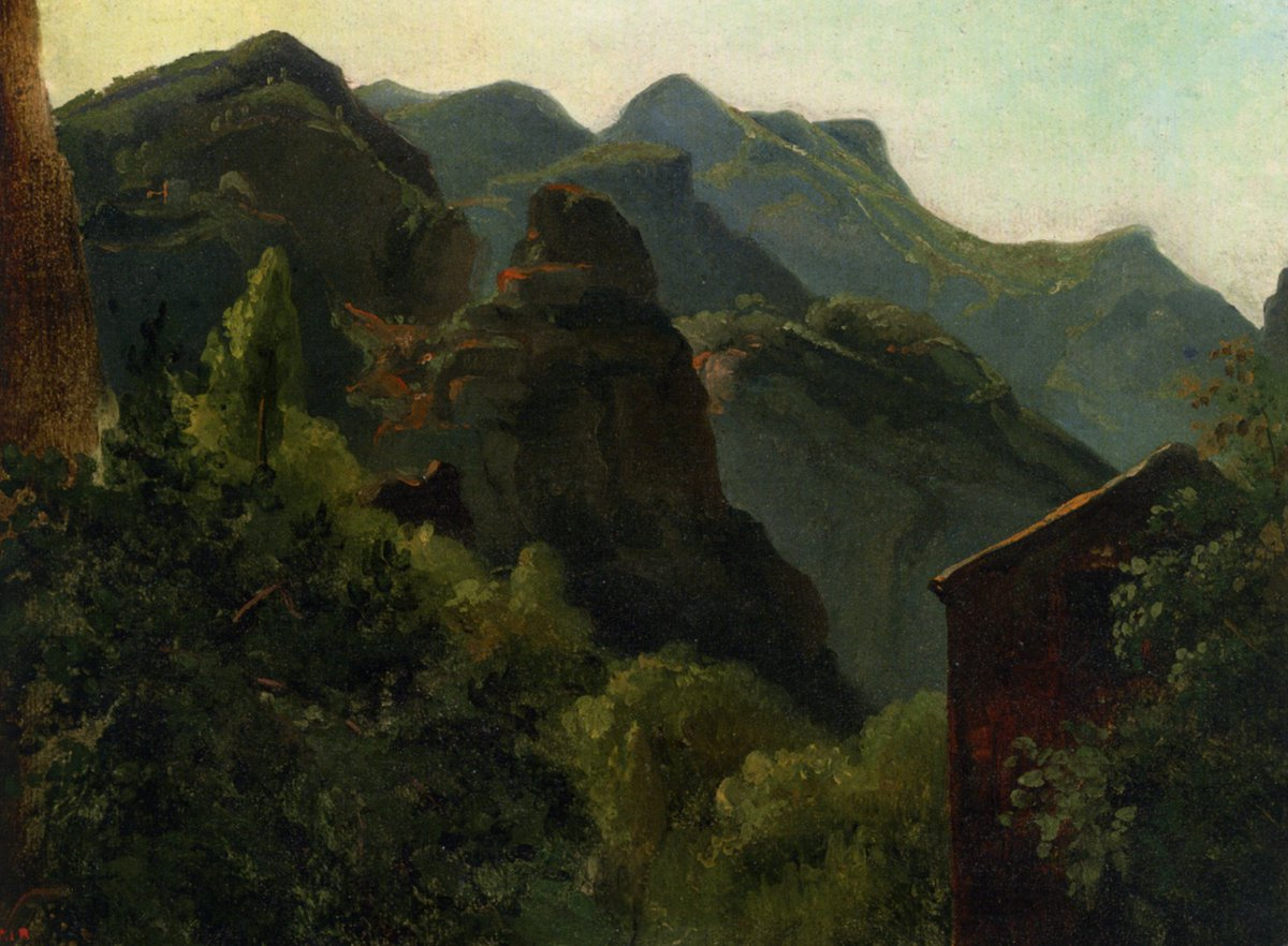 Théodore Rousseau  The Valley of Saint-Vincent