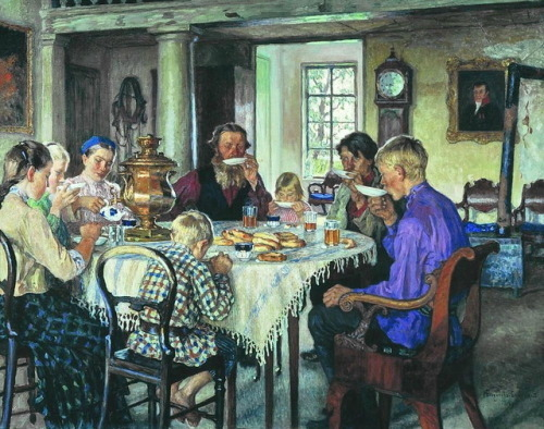 Nikolay belsky     New Owners  Tea-Drinking