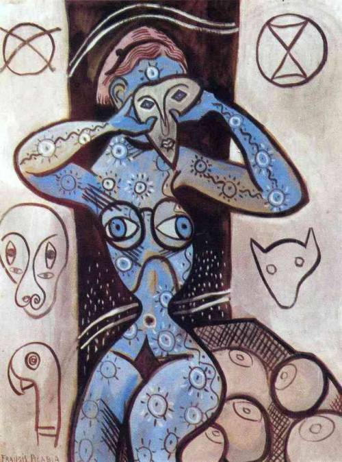 Breasts, 1927, Francis Picabia