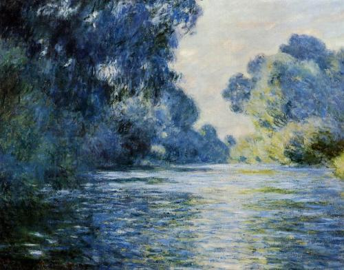 Claude Monet  Arm of the Seine at Giverny