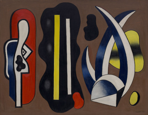 Composition with Aloes, No. 4 by Fernand Léger