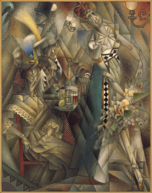 Dancer in a Cafe by   Jean Metzinger, 1912