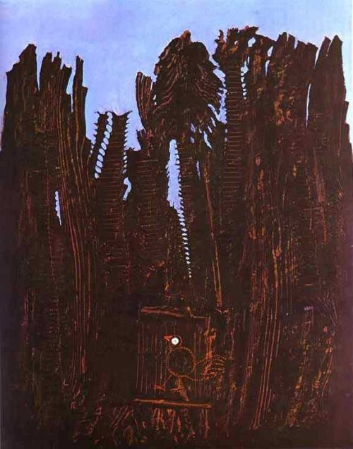 Forest and Dove, Max Ernst