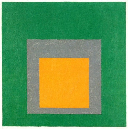 Josef Albers,    Study to Homage to the Square