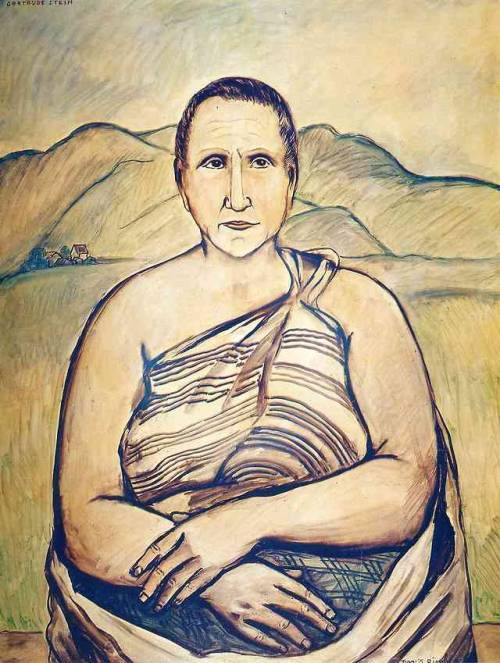 Gertrude Stein, 1933, Francis Picabia