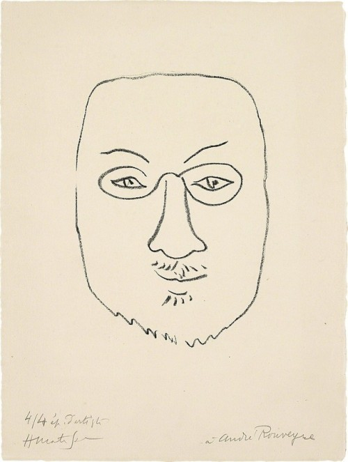 Henri Matisse Masque  Mask , 1945 Lithograph, on Arches paper