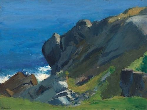 hopper     Rocky Shore and Sea, Edward