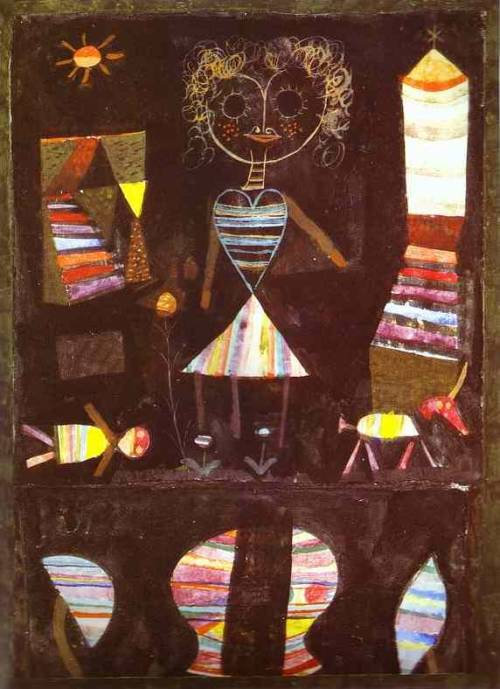 Puppet theater, Paul Klee