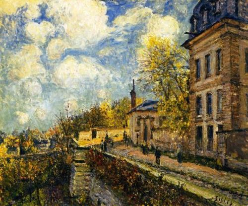The Factory at Sevres, Alfred Sisley