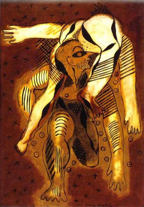 The Acrobates, Francis Picabia