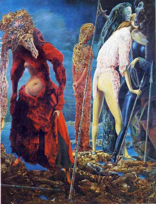 The Antipope, Max Ernst