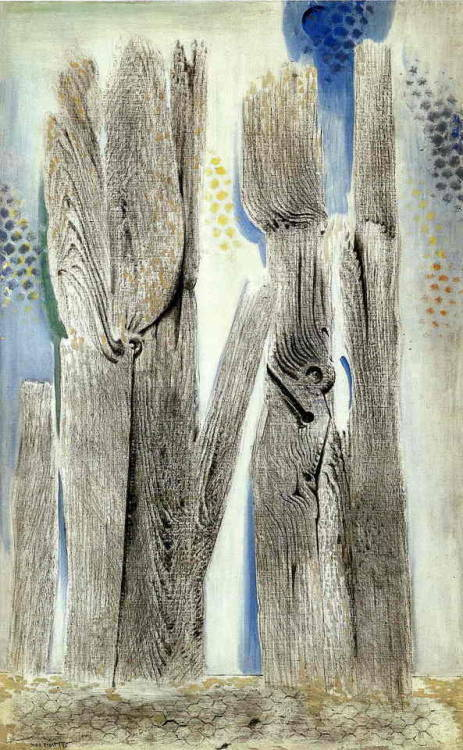 The Blue Forest, Max Ernst