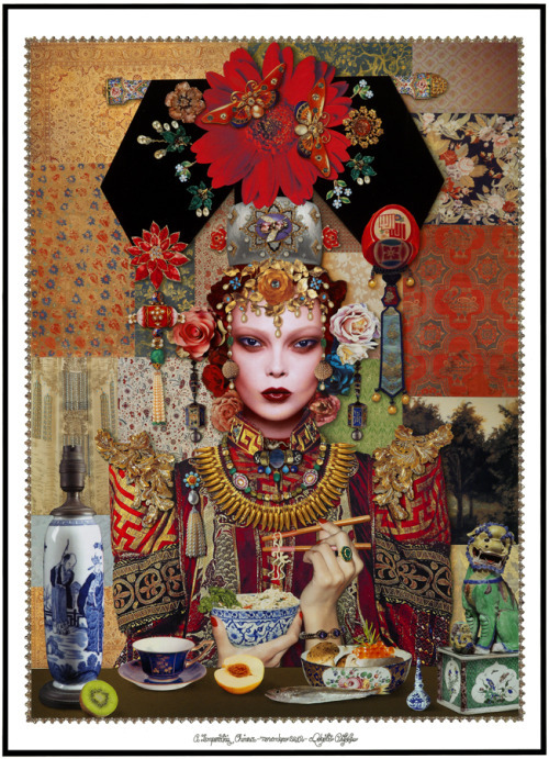 The Chinese Empress by Roberto Custodio