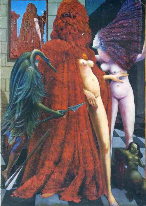 The Robing of the Bride, Max Ernst