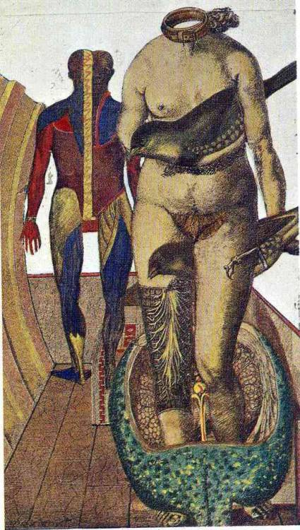 The Word  Woman Bird , Max Ernst