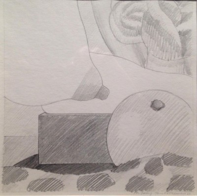 Tom Wesselmann Untitled, 1967 Graphite drawing on paper