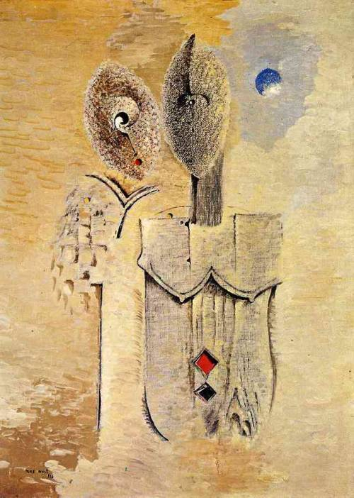 Two sisters, Max Ernst
