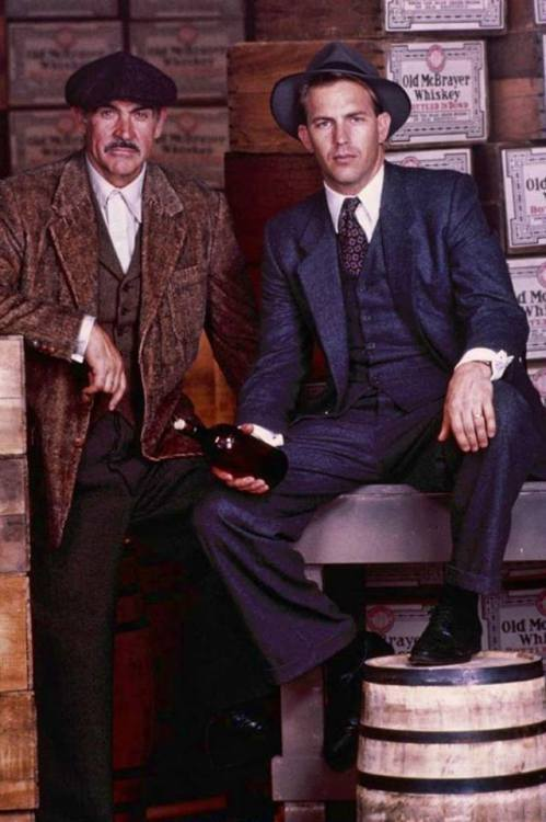 The Untouchables: Sean Connery and Kevin Costner