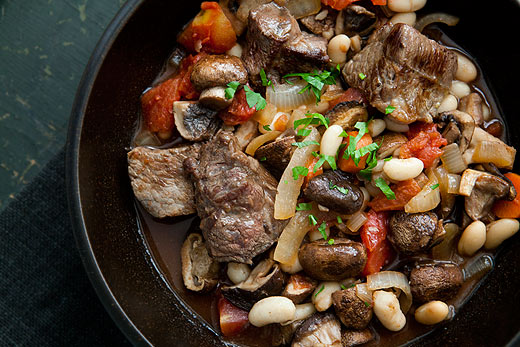 Beef Stew with Mushrooms