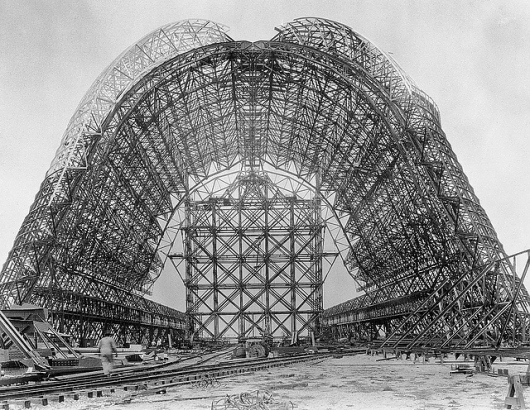 Hangar One at NAS Sunnyvale 1931 – 1934