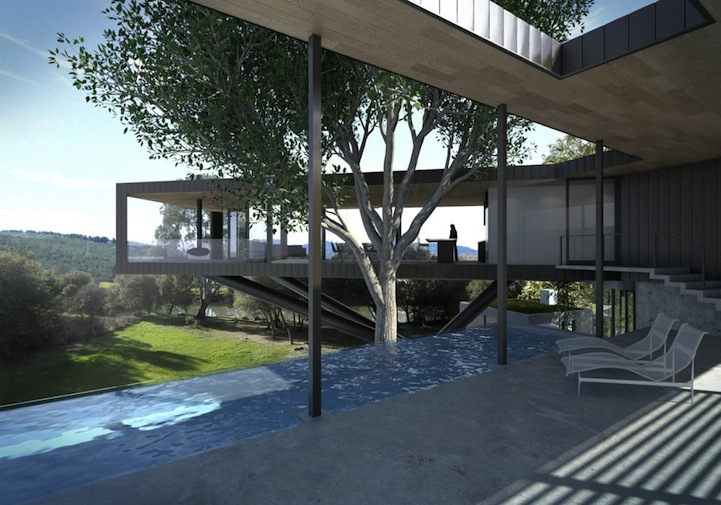 Craig Steely Architecture Floating House